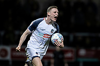 Bolton Wanderers' Ethan Hamilton celebrates scoring his side's second goal <br /> <br /> Photographer Andrew Kearns/CameraSport<br /> <br /> The Premier League - Leicester City v Aston Villa - Monday 9th March 2020 - King Power Stadium - Leicester<br /> <br /> World Copyright © 2020 CameraSport. All rights reserved. 43 Linden Ave. Countesthorpe. Leicester. England. LE8 5PG - Tel: +44 (0) 116 277 4147 - admin@camerasport.com - www.camerasport.com