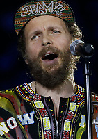 Lorenzo Jovanotti performs during &quot;Pino &egrave;&quot; tribute concert at Pino Daniele, Italian singer dead in 2015,<br /> Naples 07 june 2018<br /> ph cixer
