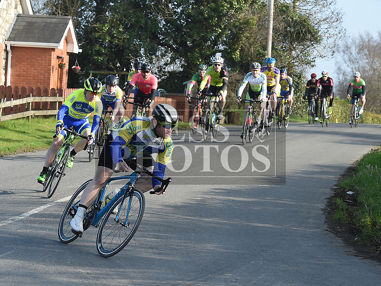 10th Anniversary edition of the Peter Bidwell Memorial cycle race at Donore. Photo:Colin Bell/pressphotos.ie