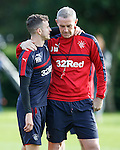 Andy Halliday and David Weir