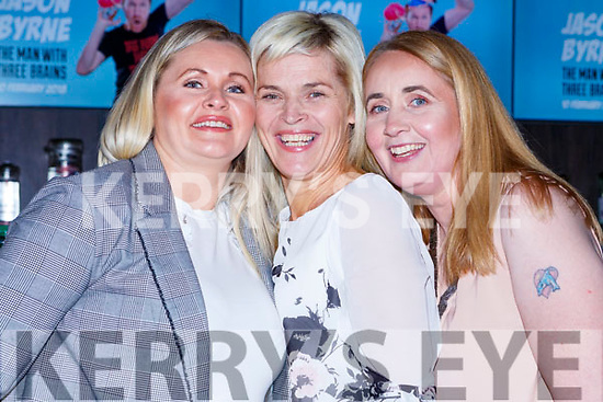 Maura O'Connor, Kathleen Smithlock ad Mary Dawson Abbeyfeale at the Brendan Grace show in the INEC on Saturday night