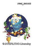 Marcello, CHRISTMAS ANIMALS, WEIHNACHTEN TIERE, NAVIDAD ANIMALES, paintings+++++,ITMCXM1935,#XA# ,owls