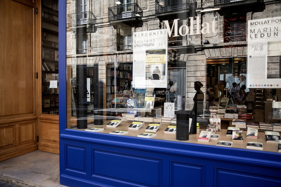 Mollat , the largest independent bookstore in Europe