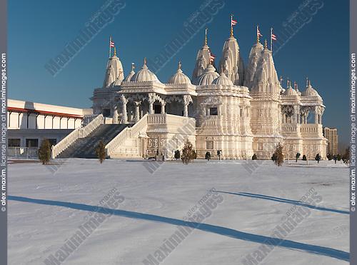 Baps Shri Swaminarayan Mandir Toronto Hindu Temple