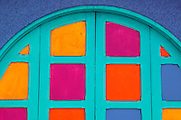 Colorful doorway, San Jose, Costa Rica