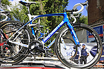 FDJ team Lapierre bikes on the team car at sign on in Verviers before the start of Stage 3 of the 104th edition of the Tour de France 2017, running 212.5km from Verviers, Belgium to Longwy, France. 3rd July 2017.<br /> Picture: Eoin Clarke | Cyclefile<br /> <br /> <br /> All photos usage must carry mandatory copyright credit (&copy; Cyclefile | Eoin Clarke)