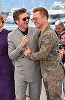 "CANNES, FRANCE. May 16, 2019: Taron Egerton & Richard Madden  at the photocall for the ""Rocketman"" at the 72nd Festival de Cannes.<br /> Picture: Paul Smith / Featureflash"