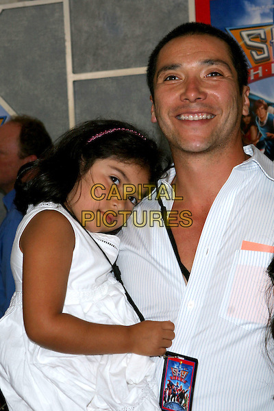 "24 July 2005 - Hollywood, CA - Benito Martinez and family. World premiere of ""Sky High"" held at The El Capitan Theatre..Photo credit: Jacqui Wong/AdMedia"