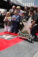 Chamber Officials, Michael Symon, Brooke Johnson, Bobby Flay, Sophie Flay at the Bobby Flay Hollywood Walk of Fame Ceremony, Hollywood, CA 06-02-15<br /> David Edwards/DailyCeleb.com 818-249-4998