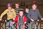 Preparations are underway for the first childrens' Duathlon in Kenmare hosted by Kenmare Tri Club which takes place this Sunday, April 10. .Back L-R Tom Kelly and Patrick Bisogno .Front L-R Lauren Tanner, Emmett and Rowan Johnston .