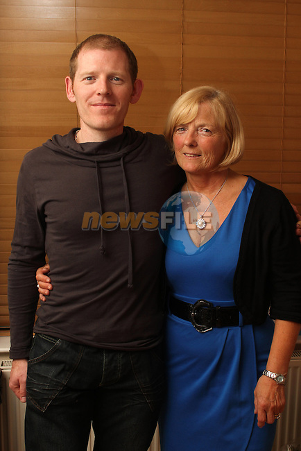 Stephen Farrell with his mother Eileen celebrating his 40th...(Photo credit should read www.newsfile.ie)....This Picture has been sent you under the conditions enclosed by:.Newsfile Ltd..The Studio,.Millmount Abbey,.Drogheda,.Co Meath..Ireland..Tel: +353(0)41-9871240.Fax: +353(0)41-9871260.GSM: +353(0)86-2500958.email: pictures@newsfile.ie.www.newsfile.ie.