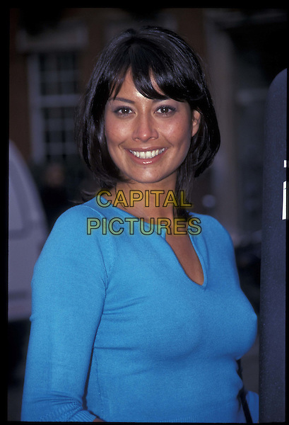 MELANIE SYKES.06 March 2000.Ref: 9407.portrait, headshot.*RAW SCAN- photo will be adjusted for publication*.www.capitalpictures.com.sales@capitalpictures.com.©Capital Pictures