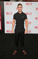 "9 August 2018-  Westwood, California - Jason Greene. Premiere Of STX Films' ""Mile 22"" held at The Regency Village Theatre. Photo Credit: Faye Sadou/AdMedia"