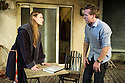 London, UK. 19.03.2013. PROOF, by David Auburn and directed by Polly Findlay, opens at the Menier Chocolate Factory. Picture shows: Mariah Gale (Catherine) and Jamie Parker (Hal). Photo credit: Jane Hobson.