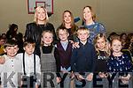 At Glenbeigh Strictly on Saturday in the Glenbeigh Sports Hall<br /> Front L-R Alex Sheahan, Max O'Sullivan, Grace Keary, Evan Keary, Alex Keary, Dara O'Sullivan & Calynn O'Neill.<br /> Back L-R Grainne Keary, Vivienne Keary, Olivia Keary.