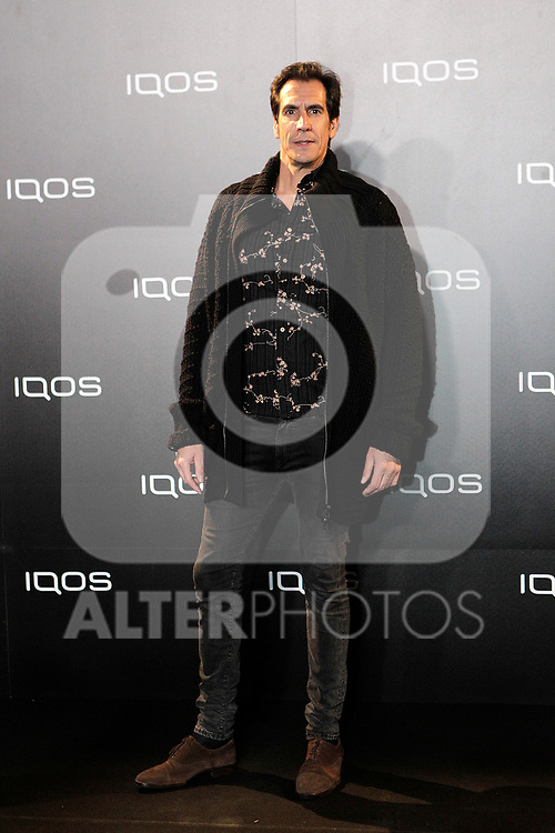 Rodrigo Poison attends to IQOS3 presentation at Palacio de Cibeles in Madrid. February 10,2019. (ALTERPHOTOS/Alconada)