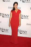 Cote de Pablo at the 66th Annual Tony Awards at The Beacon Theatre on June 10, 2012 in New York City. Credit: RW/MediaPunch Inc. NORTEPHOTO.COM
