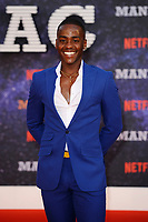 LONDON, ENGLAND - SEPTEMBER 13:   Ncuti Gatwa attending the World premiere of the new Netflix series 'Maniac' at Southbank Centre on September 13, 2018 in London, England.<br /> CAP/MAR<br /> &copy;MAR/Capital Pictures