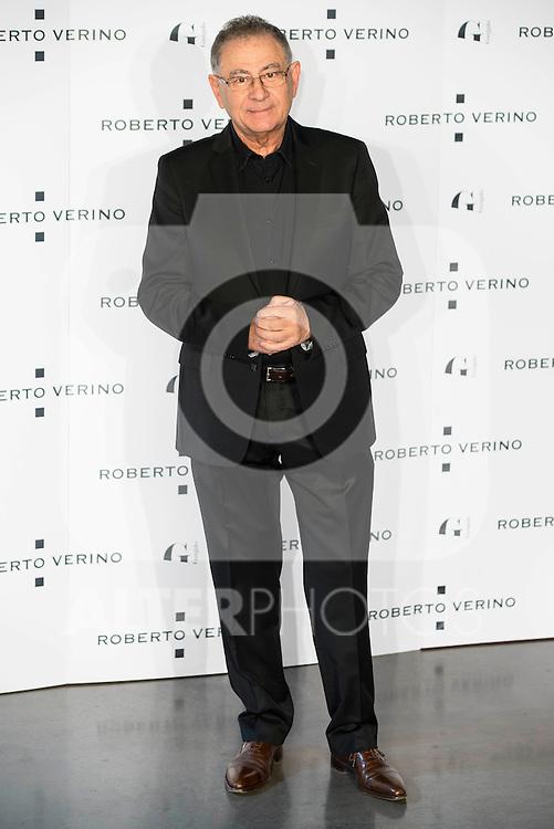 "Roberto Verino during the presentation of the new Spring-Summer collection ""Un Balcon al Mar"" of Roberto Verino at Platea in Madrid. March 16, 2016. (ALTERPHOTOS/Borja B.Hojas)"