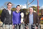 James, John Francis and Martin Flynn at the Milltown horse fair on Sunday