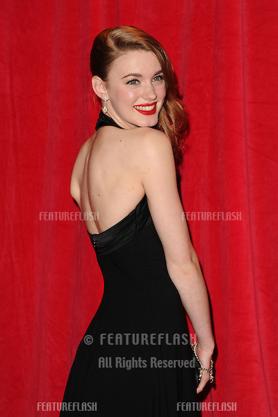 Amy Kelly  arriving for the 2014 British Soap Awards, at the Hackney Empire, London. 24/05/2014 Picture by: Steve Vas / Featureflash