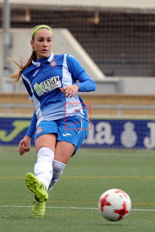 Spanish Women's Football League Iberdrola 2017/18 - Game: 18.<br /> RCD Espanyol vs Sporting Huelva: 1-0.<br /> Carola Garcia.