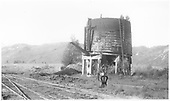 Water tank with no roof at Brown Station.<br /> RGS  Brown Tank, CO  5/1947