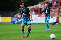 Jack Evans of Swansea City in action during the pre season friendly match between Exeter City and Swansea City at St James Park in Exeter, England, UK. Saturday, 20 July 2019