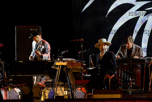 BOB DYLAN performing live on Day 2 on the Main Stage at the Hop Farm Music Festival in Paddock Wood Kent UK - 30 Jun 2012.  Photo credit: George Chin/IconicPix