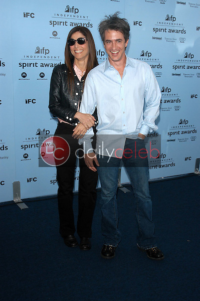 Catherine Keener and Dermot Mulrooney