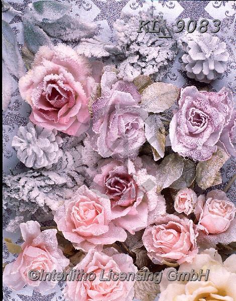 Interlitho-Alberto, CHRISTMAS SYMBOLS, WEIHNACHTEN SYMBOLE, NAVIDAD SÍMBOLOS, photos+++++,roses, frozen,KL9083,#xx#