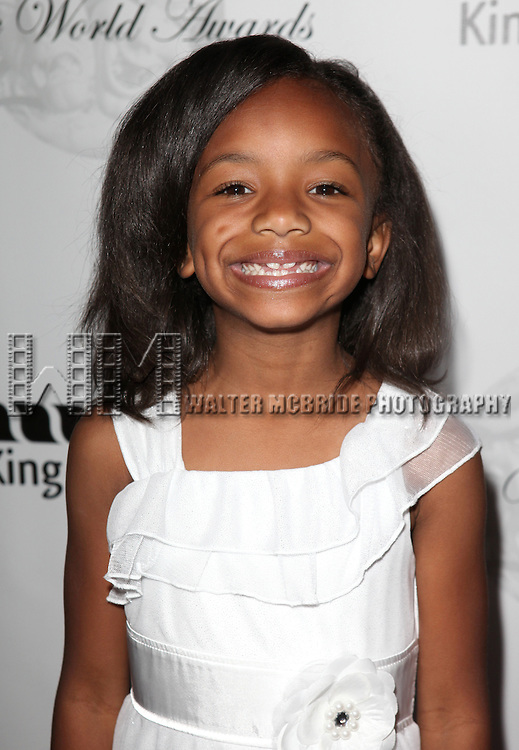 Tyrah Skye Odoms.arriving for the 68th Annual Theatre World Awards at the Belasco Theatre  in New York City on June 5, 2012.
