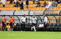 SAO PAULO, SP, 17 FEVEREIRO 2013 - CAMPEONATO PAULISTA - CORINTHIANS X PALMEIRAS - Emerson Sheik  jogador do Corinthians comemora gol contra o Palmeiras pela oitava rodada do Campeonato Paulista no Estadio Paulo Machado de Carvalho, o Pacaembu na regiao oeste da capital paulista, neste domingo, 17. (FOTO: WILLIAM VOLCOV / BRAZIL PHOTO PRESS).