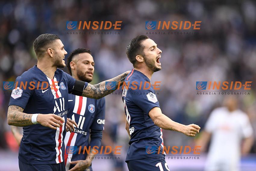 JOIE - 19 PABLO SARABIA (PSG)<br /> 05/10/2019<br /> Paris Saint Germain PSG - Angers <br /> Calcio Ligue 1 2019/2020 <br /> Foto Anthony Bibard Panoramic/insidefoto <br /> ITALY ONLY