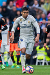 Carlos Henrique Casemiro of Real Madrid in action during their La Liga match between Real Madrid and Valencia CF at the Santiago Bernabeu Stadium on 29 April 2017 in Madrid, Spain. Photo by Diego Gonzalez Souto / Power Sport Images