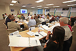 Jersey Central Power & Light Hurricane Sandy Overlay Exercise in Red Bank, NJ on Wednesday May 18, 2016.