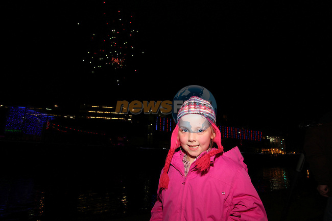 Katie Connolly at the Funtasia Firework Display at Scotch Hall...Photo NEWSFILE/Jenny Matthews..(Photo credit should read Jenny Matthews/NEWSFILE)