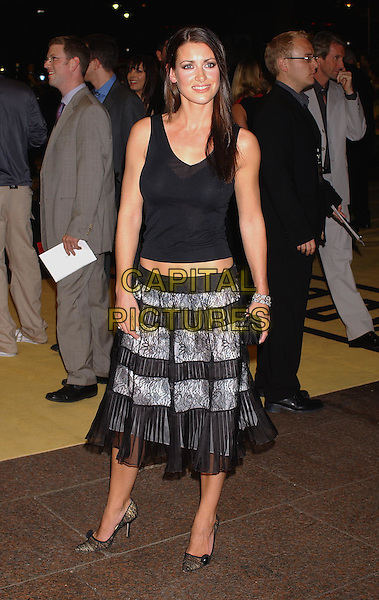 KIRSTY GALLACHER                 .Bad Boys Premiere.ruffles, full length, full-length.30th September 2003.www.capitalpictures.com.sales@capitalpictures.com.Supplied By Capital Pictures