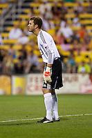 26 JUNE 2010:  William Hesmer of the Columbus Crew (1) during MLS soccer game between DC United vs Columbus Crew at Crew Stadium in Columbus, Ohio on May 29, 2010. The Crew defeated DC United 2-0.