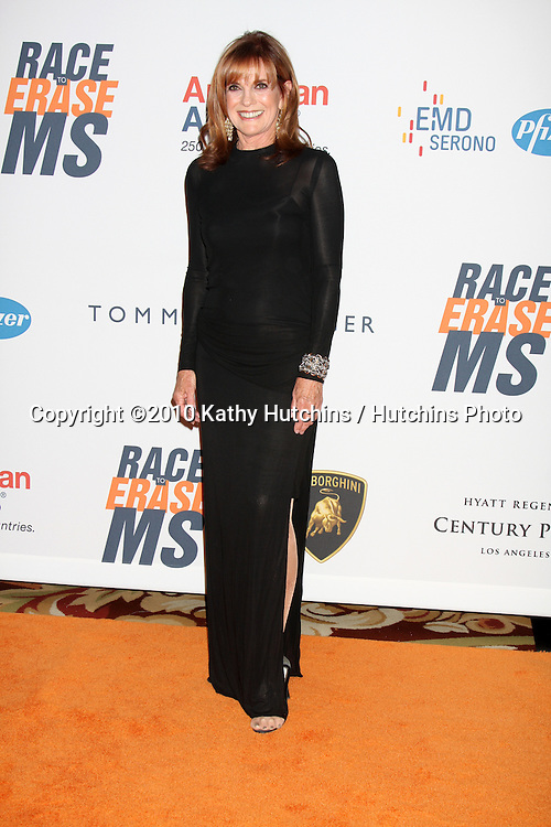 Linda Gray.arrives at the 17th Race To Erase MS Gala.Century Plaze Hotel.Century City, CA.May 7, 2010.©2010 Kathy Hutchins / Hutchins Photo...