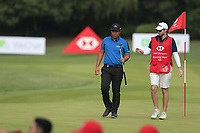 Byeong Hun An (KOR) on the 16th green during the final round of the WGC HSBC Champions, Sheshan Golf Club, Shanghai, China. 03/11/2019.<br /> Picture Fran Caffrey / Golffile.ie<br /> <br /> All photo usage must carry mandatory copyright credit (© Golffile | Fran Caffrey)