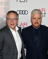 "18 November 2019 - Hollywood, California - Fernando Meirelles, Anthony McCarten. AFI FEST 2019 Presented By Audi – ""The Two Popes"" Premiere held at TCL Chinese Theatre. Photo Credit: FS/AdMedia"