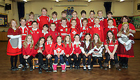St David's Day, Year 5, at Newton Primary School in Swansea, Wales, UK. Wednesday 01 March 2017