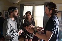 Tag (2018)  <br /> JAKE JOHNSON, ISLA FISHER and director JEFF TOMSIC on the set of<br /> *Filmstill - Editorial Use Only*<br /> CAP/MFS<br /> Image supplied by Capital Pictures