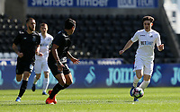 SWANSEA, WALES - MARCH 25: Daniel James of Swansea City during the Premier League International Cup Semi Final match between Swansea City and Porto at The Liberty Stadium on March 25, 2017 in Swansea, Wales. (Photo by Athena Pictures)