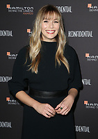 04 November 2018 - Los Angeles, California - Elizabeth Olsen. 10th Hamilton Behind the Camera Awards hosted by Los Angeles Confidential at Exchange LA. <br /> CAP/ADM/FS<br /> &copy;FS/ADM/Capital Pictures
