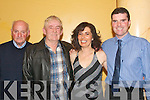 NEXT DANCE: Warming up the dance floor at the O'Rahillys Villas Strand Road, Christmas party in the Mount Brandon hotel last Saturday evening were l-r: Jeremiah Greaney, John O'Leary with Jacqueline and Tom Lynch.   Copyright Kerry's Eye 2008
