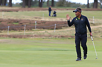 Thongchai Jaidee (THA) on the 3rd during Round 2 of the Sky Sports British Masters at Walton Heath Golf Club in Tadworth, Surrey, England on Friday 12th Oct 2018.<br /> Picture:  Thos Caffrey | Golffile<br /> <br /> All photo usage must carry mandatory copyright credit (&copy; Golffile | Thos Caffrey)