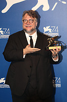 Guillermo del Toro at the Award winners  Photocall of the 74th Venice Film Festival at Sala Grande on September 9, 2017 in Venice, Italy.<br /> CAP/GOL<br /> &copy;GOL/Capital Pictures