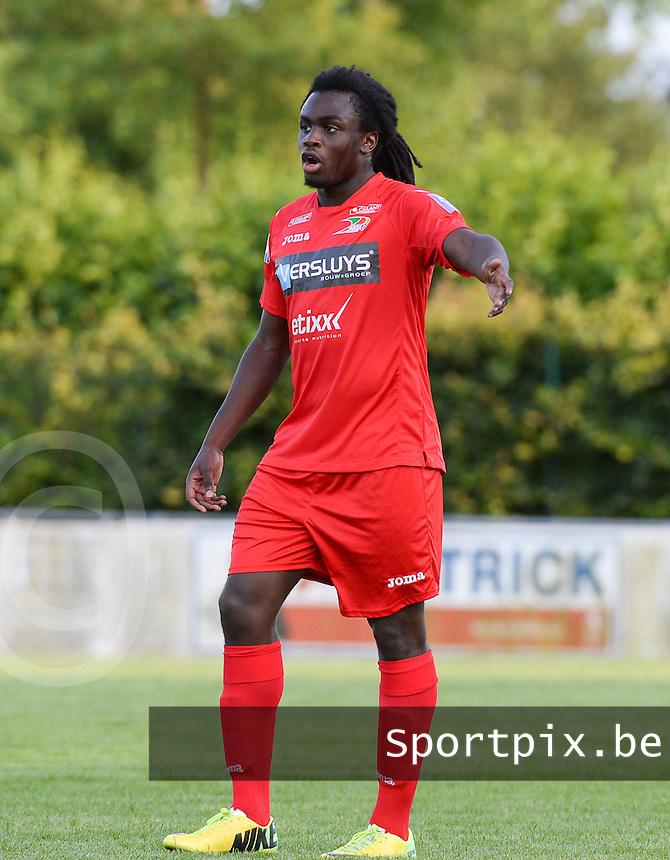 KV Oostende : Jordan Lukaku <br /> foto VDB / BART VANDENBROUCKE